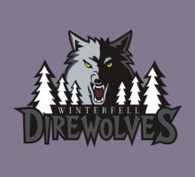 Winterfell Direwolves by huckblade