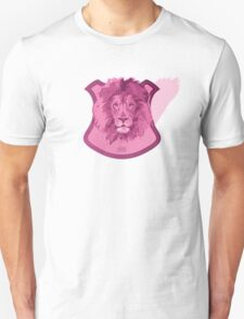 Hunting Series - The Pink Lion Head Unisex T-Shirt