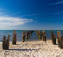 Clifton Springs Jetty by Bevlea Ross