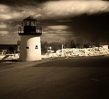 LightHouse in Ogunquit Maine by Nazareth