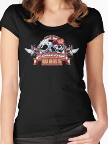 The Console Wars Women's Fitted Scoop T-Shirt