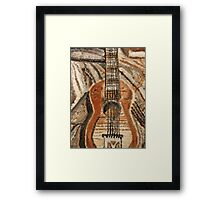 """Still Life Guitar"" by Carter L. Shepard Framed Print"