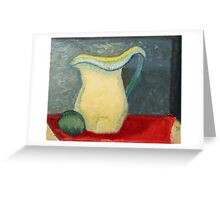 """Still Life Paitcher"" by Carter L. Shepard Greeting Card"