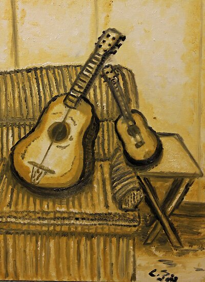 """Still Life Strings"" by Carter L. Shepard by echoesofheaven"