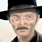 Lee Van Cleef as Angel Eyes in The Good the Bad and the Ugly by jimfitz