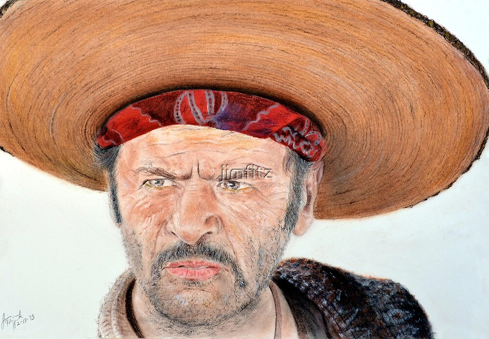 Eli Wallach as Tuco in The Good the Bad and the Ugly by jimfitz