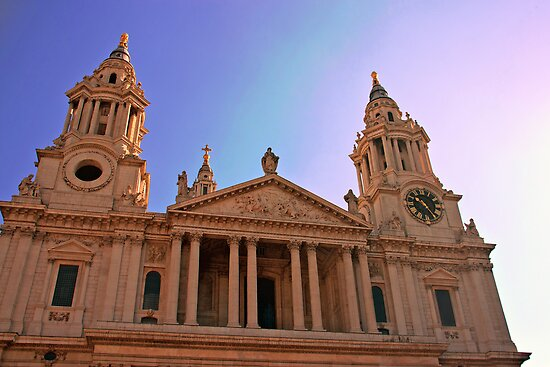 St. Paul's Cathedral by Rebecca Caspers