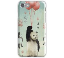 Pandaloons v2 iPhone Case/Skin