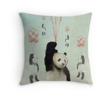 Pandaloons v2 Throw Pillow