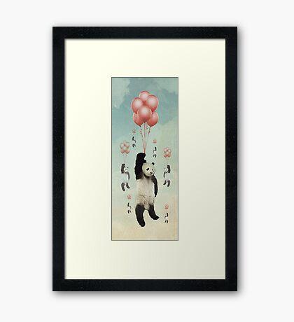 Pandaloons v2 Framed Print
