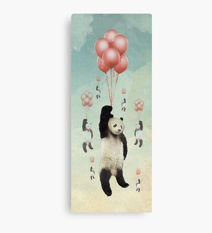 Pandaloons v2 Canvas Print