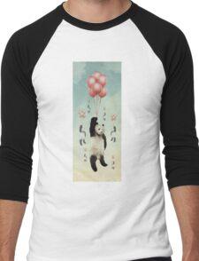 Pandaloons v2 Men's Baseball ¾ T-Shirt