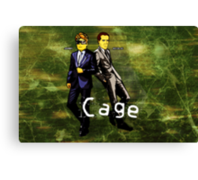 Cage (Print Version) Canvas Print