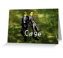 Cage (Print Version) Greeting Card