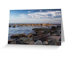 Rock Fishermen Greeting Card