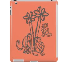 Apes - chimpanzees, Rainforest Rescue, animal welfare, palm oil iPad Case/Skin