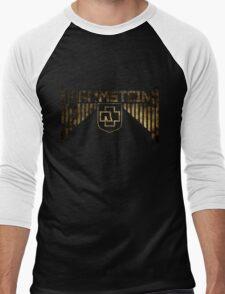 Rammstein Bars Dirty Men's Baseball ¾ T-Shirt