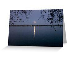 Perfect Moonlight Greeting Card