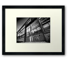 Old Factory Framed Print