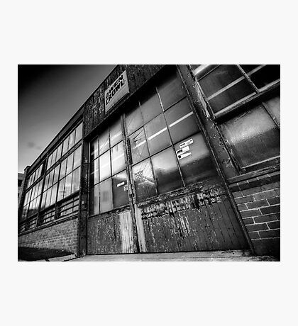 Old Factory Photographic Print