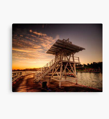 Dive Tower Rise Canvas Print