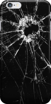 Broken Glass 1 iPhone by Brian Carson