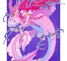 Axolotl Friend by Natasha Dancy