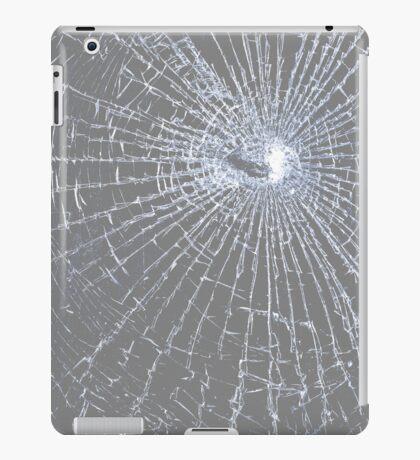 Broken Glass 2 iPad Gray iPad Case/Skin