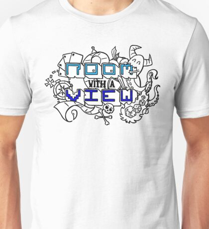 room with a view logo Unisex T-Shirt