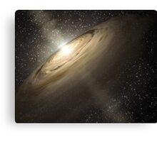 Star System Composite Photo Canvas Print