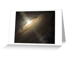 Star System Composite Photo Greeting Card