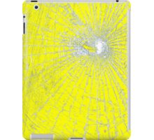 Broken Glass 2 iPad Yellow iPad Case/Skin