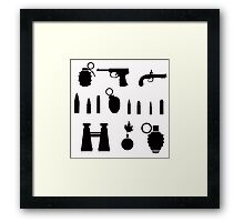 weapon Framed Print