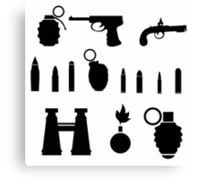 weapon Canvas Print