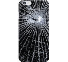 Broken Glass 2 iPhone Black iPhone Case/Skin