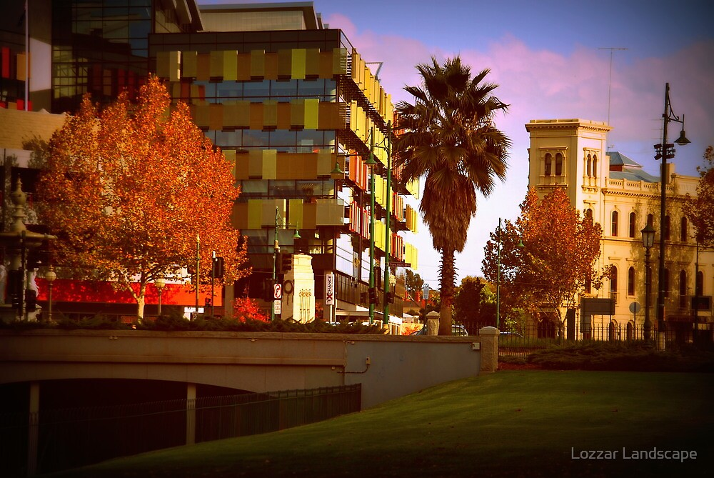Old and New by Lozzar Landscape