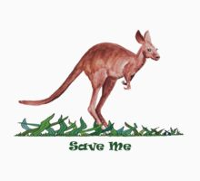Save the Kangaroo Kids Clothes