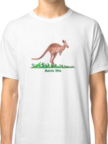 Save the Kangaroo Classic T-Shirt