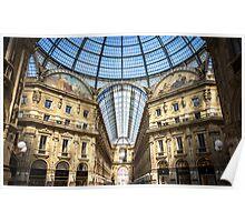 Galleria Vittorio Emanuele, Milan Poster