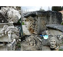 Fragments of Aegean Antiquity Photographic Print