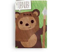Cute Ewok! YUBNUB!! Canvas Print