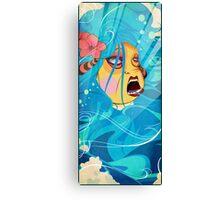 birth of a sirene Canvas Print