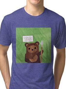 Cute Ewok! YUBNUB!! Tri-blend T-Shirt