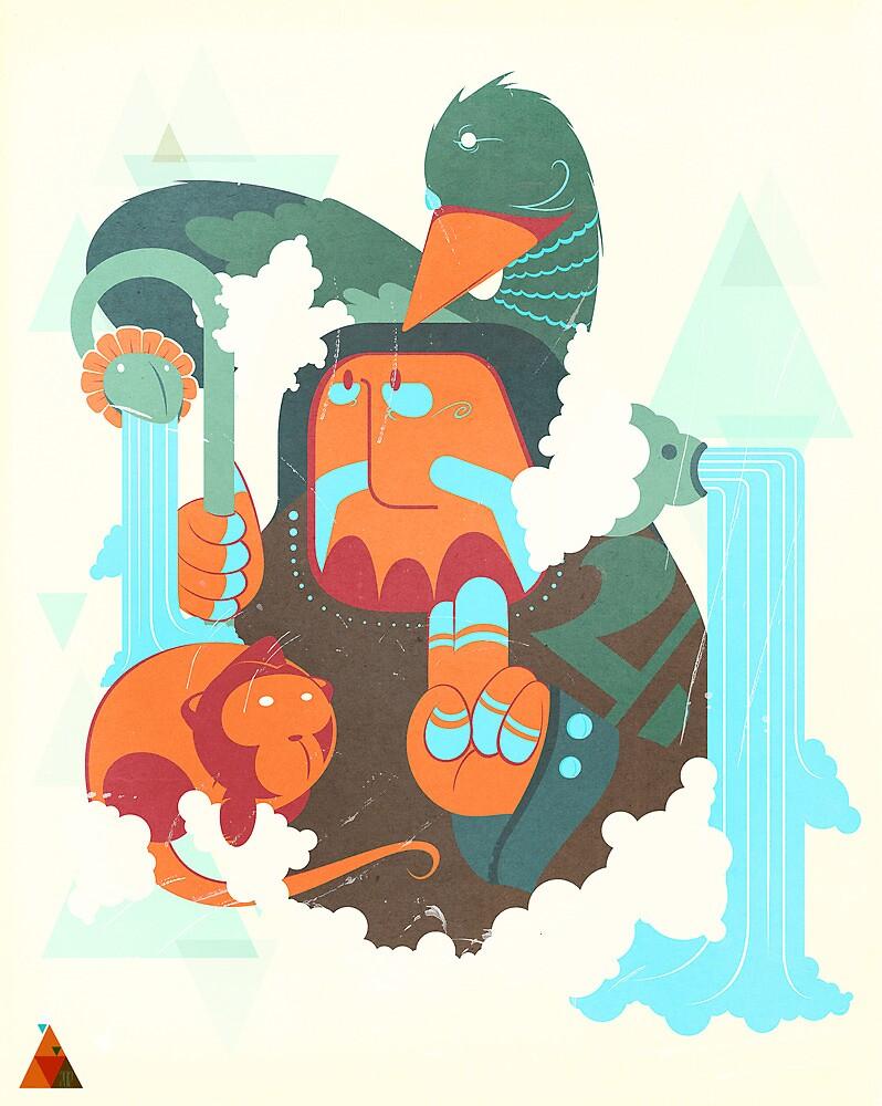 mayan print 2 by SenPowell