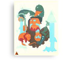 mayan print 2 Canvas Print