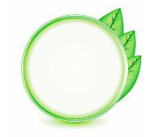 eco logo Photographic Print