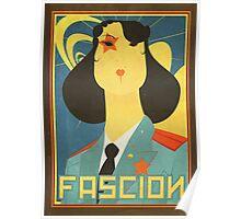 Russian constructivism print Poster