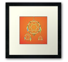 dream catcher Framed Print
