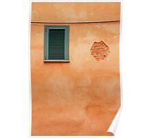 Window in Albenga Poster