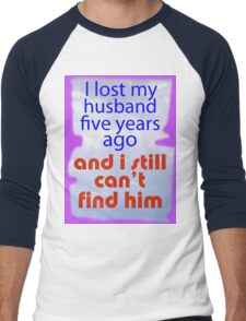 LOST AND FOUND Men's Baseball ¾ T-Shirt